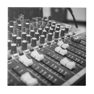 Audio Black And White Black White Concert Console Tile