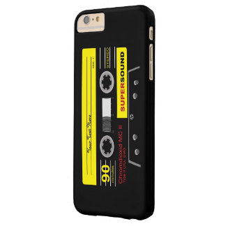 Audio Cassette MixTape Barely There iPhone 6 Plus Case