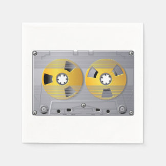 Audio Cassette Tape Paper Napkins