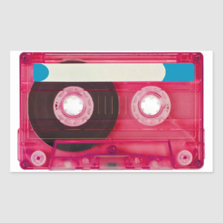 audio compact cassette sticker