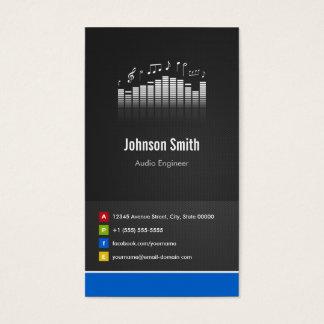 Audio Engineer - Premium Creative Innovative Business Card