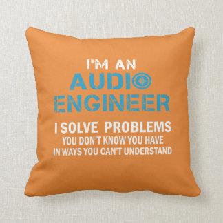 AUDIO ENGINEER THROW PILLOW