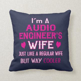Audio Engineer's Wife Throw Pillow