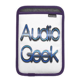 Audio Geek Blue iPad Mini Sleeve