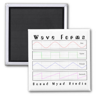 Audio Lover Wave Forms Magnet