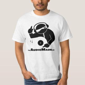 Audio Made DJ and Music Producer T-Shirt