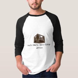 audio media mass storage device T-Shirt