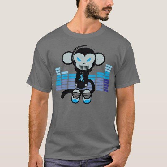 Audio Monkey (blue) T-Shirt