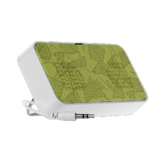 Audio Speaker ATOMC BOOMERANG 50s Retro CHARTREUSE