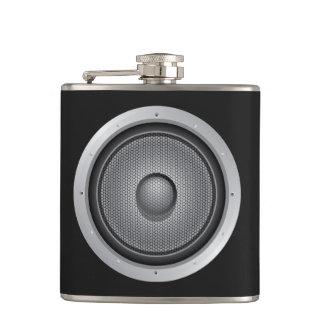 Audio Speaker Hip Flask
