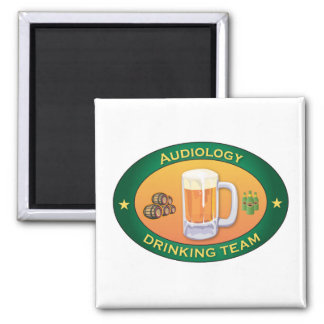 Audiology Drinking Team Magnet