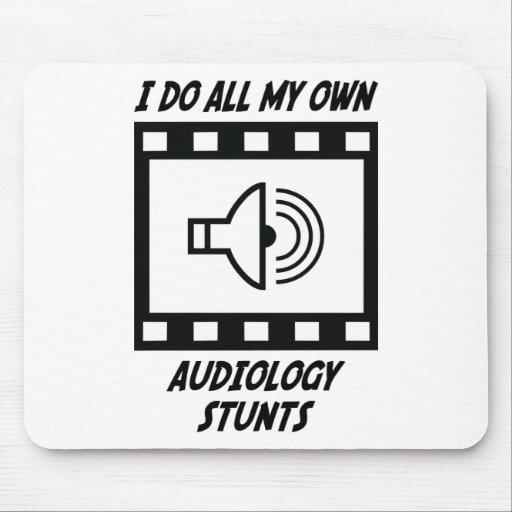 Audiology Stunts Mouse Mats