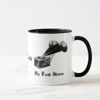 Audiophile - My First Stereo Mug/Cup Mug