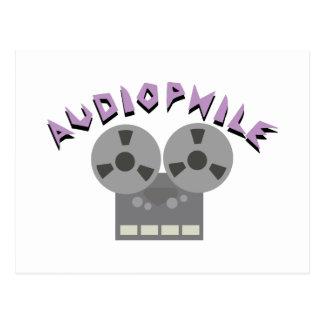 Audiophile Postcard