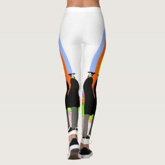 AUDIOPHILIACS.COM 20th century pop logo leggings