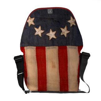 audiophiliacs.com ALL AMERICAN FLAG WAIVER bag Commuter Bags