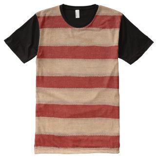 audiophiliacs.com ALL AMERICAN FLAG WAVER tee