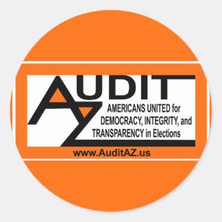 """AuditAZ 3"""" Sticker Round"""
