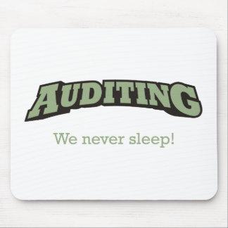 Auditing - Sleep Mouse Pad