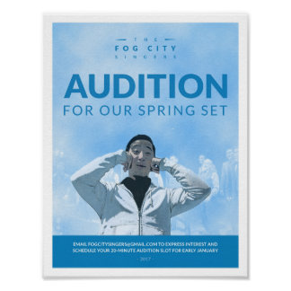 Audition Poster (Spring 2017)