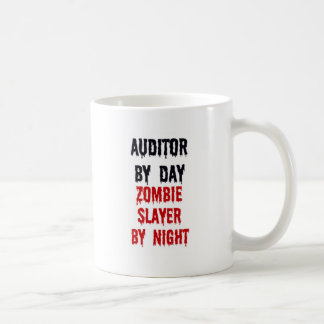 Auditor By Day Zombie Slayer By Night Coffee Mug