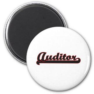 Auditor Classic Job Design 2 Inch Round Magnet