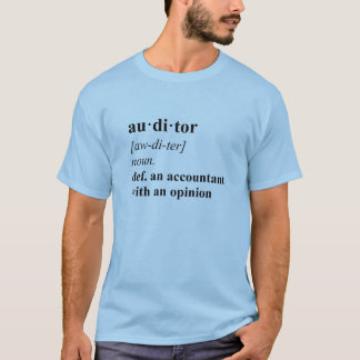 Auditor Definition - blk T-Shirt