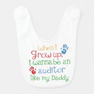 Auditor Like My Dad Baby Bib