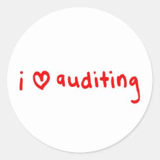 Auditor Sticker - I Love Auditing