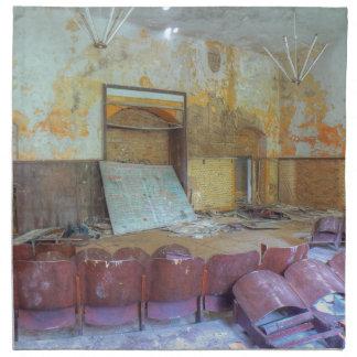 Auditorium 01.0, Lost Places, Beelitz Napkin