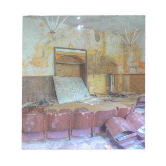 Auditorium 01.0, Lost Places, Beelitz Notepad