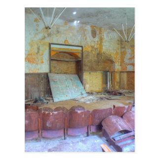 Auditorium 01.0, Lost Places, Beelitz Postcard