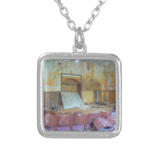 Auditorium 01.0, Lost Places, Beelitz Silver Plated Necklace