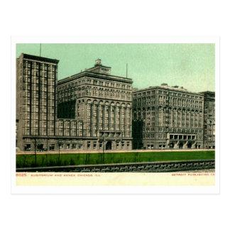 Auditorium, Chicago, Illinois Vintage Postcard