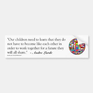 Audre Lorde Quote Bumper Sticker