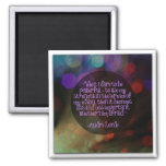 Audre Lorde Quote Refrigerator Magnet