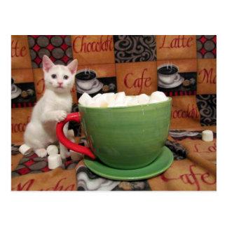 Audrey's Marshmallow Dessert Postcard