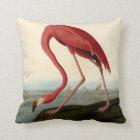 Audubon American Flamingo Throw Pillow
