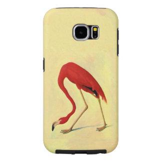 Audubon American Flamingo Vintage Fine Art Samsung Galaxy S6 Cases