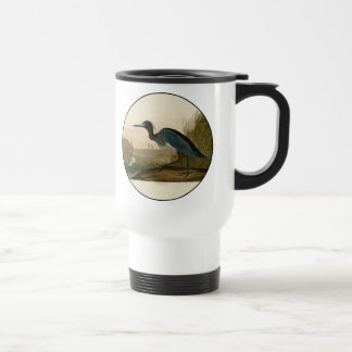 Audubon Blue Crane Heron Birds of America Travel Mug