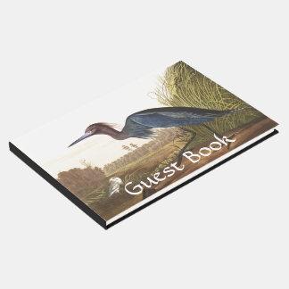Audubon Blue Heron Birds Wildlife Guest Book