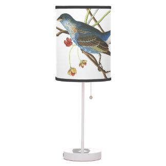 Audubon Bunting Birds Wildlife Animals Table Lamp