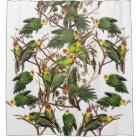 Audubon Carolina Parrot Bird Animal Shower Curtain