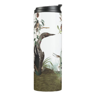 Audubon Collage of Birds Animal Wildlife Tumbler