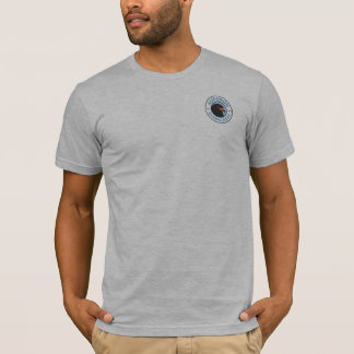Audubon Everglades Men's Basic T-Shirt Gray