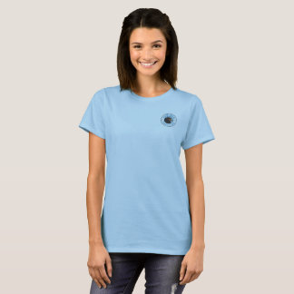 Audubon Everglades Women's Basic T-Shirt Blue