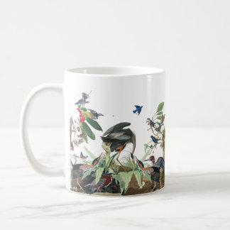 Audubon Heron Birds Collage Wildlife Animals Mug