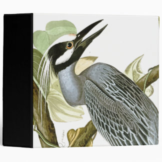Audubon Heron Birds Wetlands Wildlife Avery Binder