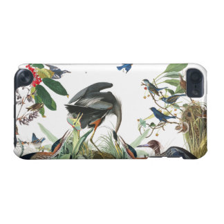 Audubon Heron Bluebird Birds Wildlife Device Case