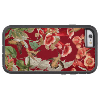 Audubon Hummingbird Birds Flowers Wildlife Animals Tough Xtreme iPhone 6 Case